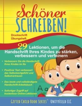 Schöner Schreiben!: Druckschrift Übungsheft -