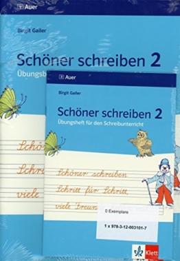 Schöner schreiben Schritt für Schritt, viele Freunde helfen mit: Übungsblätter für den Schreibunterricht inkl. Übungsheft, 2. Jahrgangsstufe - Lateinische Ausgangsschrift -
