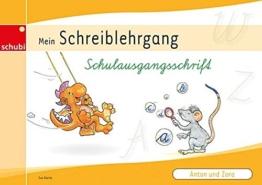 Schreiblehrgang Schulausgangsschrift (Anton und Zora) -