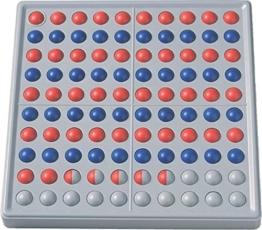 SCHUBI abaco-100 (10/10 Kugeln, rot/blau): Der Zähl- und Rechenrahmen für den Zahlenraum bis 100 mit dem genialen Dreh -