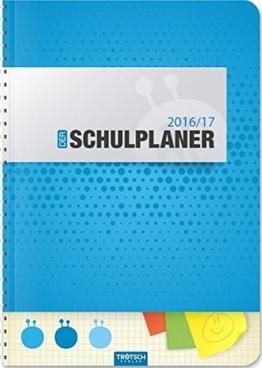 Schulplaner 2016/2017 Blau -