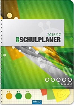 Schulplaner 2016/2017 Grün -