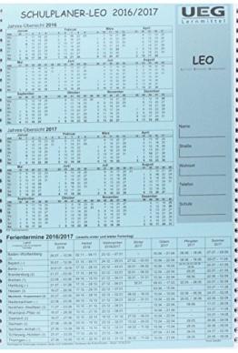 Schulplaner LEO, Lehrerkalender A4 2016/2017 -