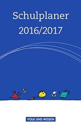 Schulplaner / Schulplaner 2016/2017 -