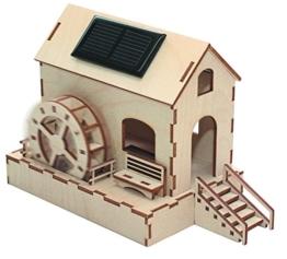 SOL-EXPERT group SWM - Solar-Wassermühle, Bausatz, Holz, natur -