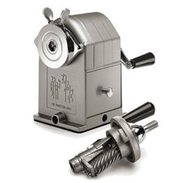 Spitzmaschine für Bleistifte aus Metall - eine hochwertige Geschenkidee zu Weihnachten mit Charakter von Caran d'Ache -