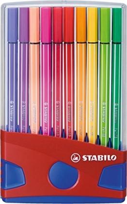 STABILO Pen 68 ColorParade 20er Etui - Fasermaler -
