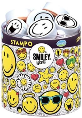 Stampo Smiley: 38 Stempel und 1 Stempelkissen -