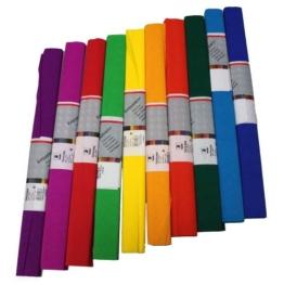 Staufen 617003 - Krepppapier 10 Rollen 50 x 250 cm, sortiert -