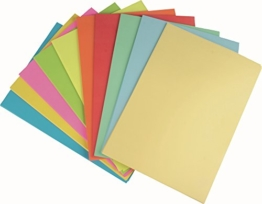 STYLEX Farbiges Papier, 250 Blatt blanko, A4 -