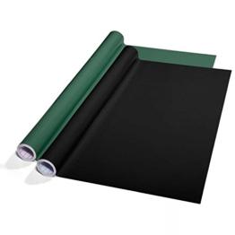 Tafelfolie Set selbstklebend | 60x300cm | zwei Farben wählbar (grün) -