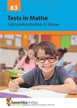 Tests in Mathe - Lernzielkontrollen 3. Klasse -