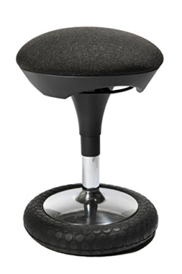 Topstar SI69G22 Sitzhocker Sitness 20, Bezug, anthrazit -