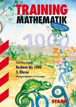 Training Mathematik - Zahlenraum bis 1000 3. Klasse -