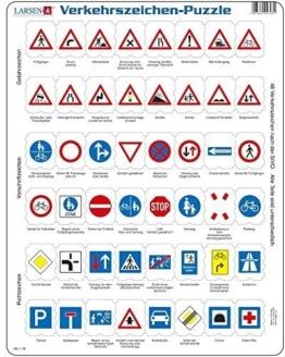 Verkehrszeichen- Puzzle 48 Teile -