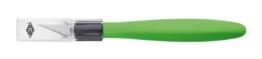 Wedo 7852199 Cutter Skalpell Comfortline (mit Softgriff inklusive 5 Ersatzklingen und Schutzkappe) apfelgrün/schwarz -