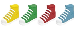 Westcott E-66060 00 Radierer Sneaker, 2-er Packung, farblich sortiert -
