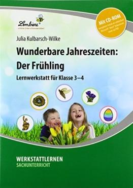 Wunderbare Jahreszeiten: Der Frühling (Set): Grundschule, Sachunterricht, Klasse 3-4 -