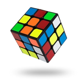 Zauberwürfel - Buself Speed Cube 3X3,Dreht sich schneller und präziser als der Original-Rubik. Super-robust mit lebendigen Farben. 3x3 Zauberwürfel Speed Cube Magic Cube. -