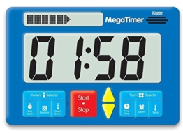 Zeitdauer-Uhr Digital Mega -