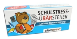 BärenBande Traubenzucker Schulstress-ÜBÄRsteher vom OBÄRarzt -