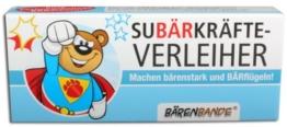 BärenBande Traubenzucker SuBÄRkräfte vom OBÄRarzt -