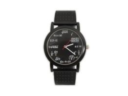 Die geniale Mathe Armbanduhr mit Formeln -