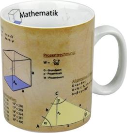 Könitz K1153301063 Kaffee-/ Wissensbecher Mathematik im Geschenkkarton -