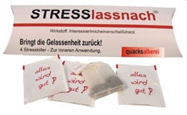 "Witziger Tee ""STRESSlassnach"" -"